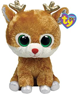 5c807bf01d0 Amazon.com  Ty Beanie Boos Buddies Comet - Reindeer (BBUD)  Toys   Games