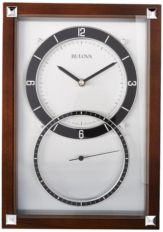 Amazon Bulova Enterprise Wall Clock Home Kitchen
