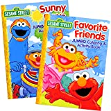 Sesame Street Coloring Books for Toddlers Preschool Children Set of 2 96-Page Coloring Books