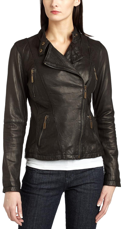 f9eeb1cba MICHAEL Michael Kors Women s Asymmetrical Motorcycle Leather Jacket ...