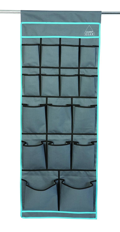 Camp Gear Unisex CA 16Compartimento 600d, Color Gris, 123x 48cm 1771502