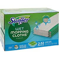 Swiffer Wet Mopping Cloth Refill Fresh Scent Count 2/32 Count Net, 64 Count (Pack of 1)
