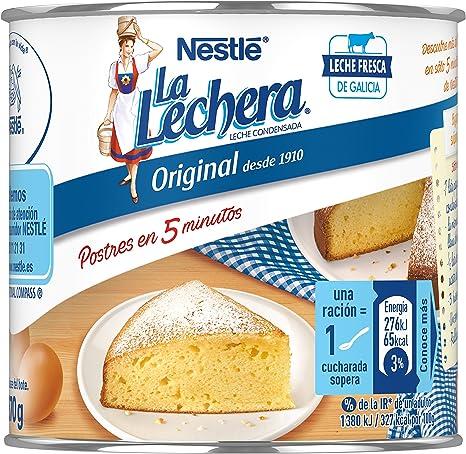 Nestlé La Lechera Leche condensada entera - Lata de leche ...