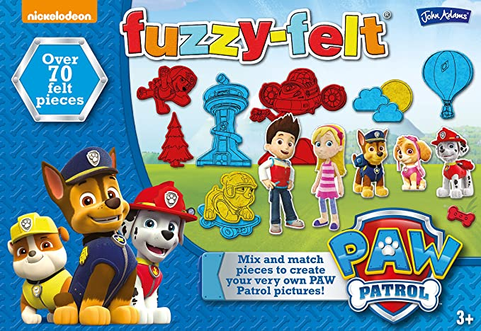 Rørig John Adams 10350 Fuzzy-Felt paw Patrol, Multi: Amazon.co.uk: Toys JM-22