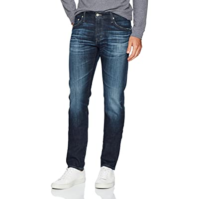 AG Adriano Goldschmied Men's The Dylan Slim Skinny Union Dark Denim: Clothing