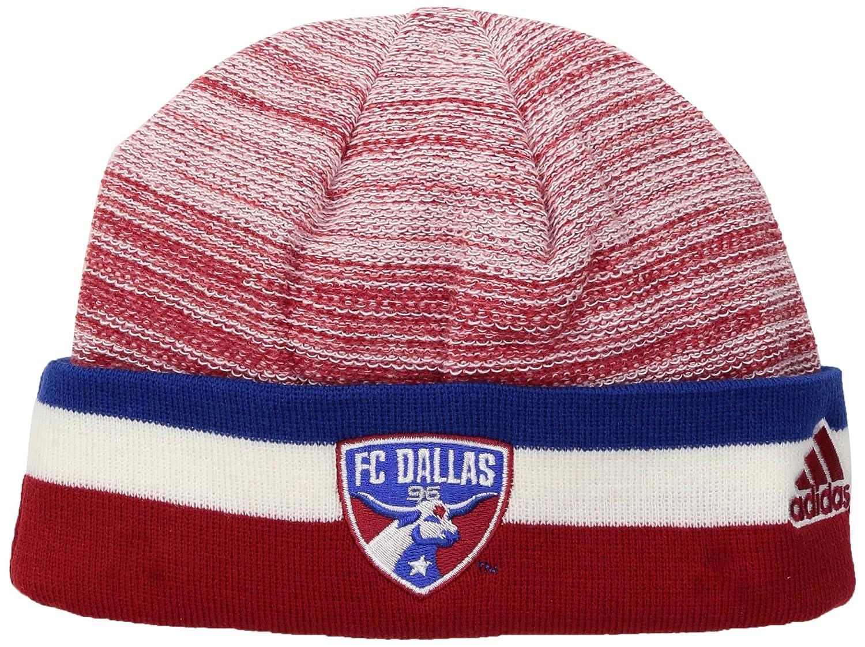 meet e6518 f197d Amazon.com   MLS New York City FC Adult Men MLS SP17 Fan Wear Watch Cap,  Osfa, Blue   Clothing