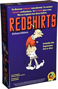 Weaselpants Redshirts Deluxe Edition Board Game