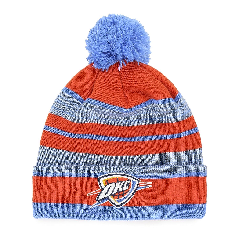 OTS NBA Mens Huset Cuff Knit Cap with Pom