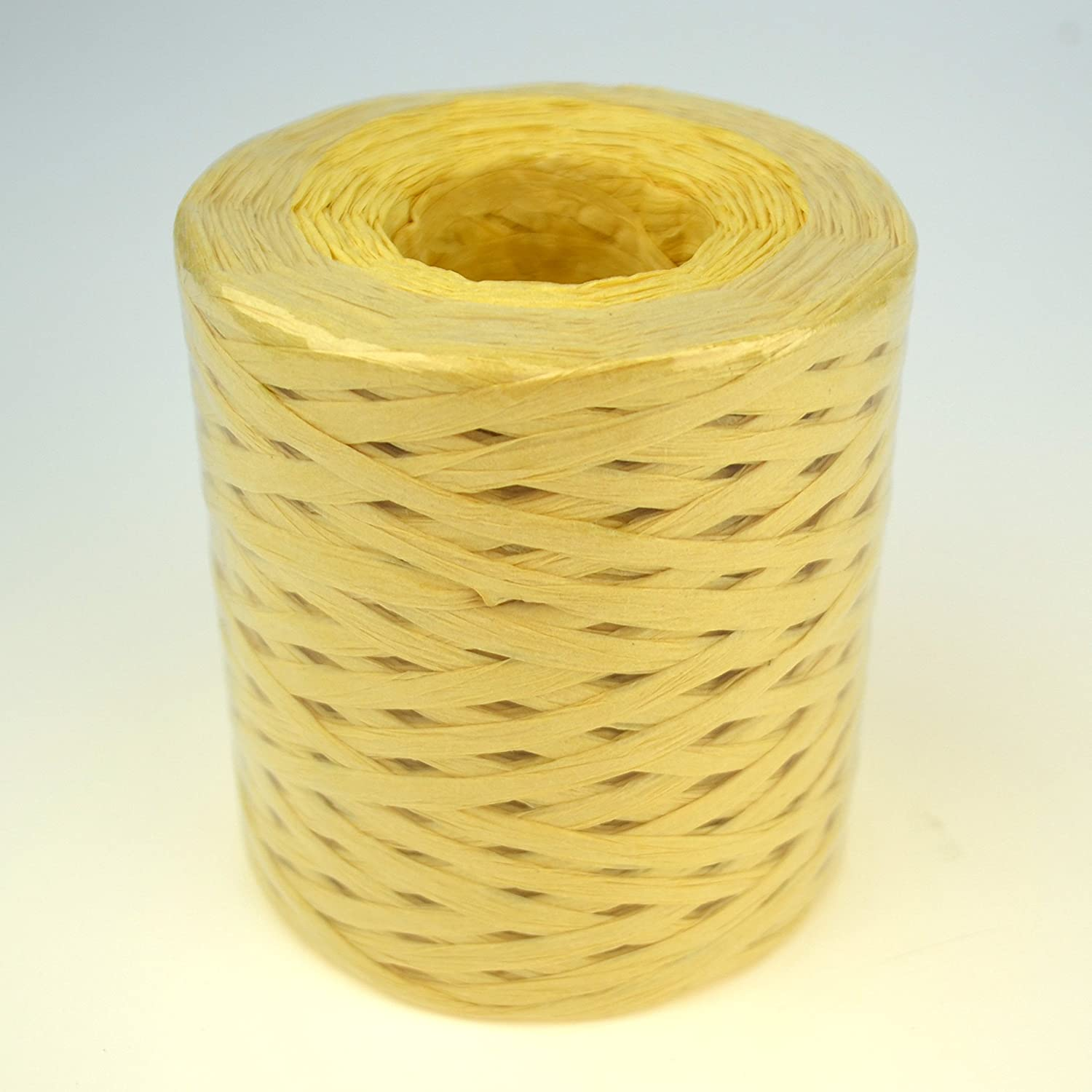 Light Blue Color Star Packing Paper Twine 218 Yard Giant Roll Light Blue Matte Paper Ribbon 93 Colors Available 3//16 Inch Width Paper Raffia Roll