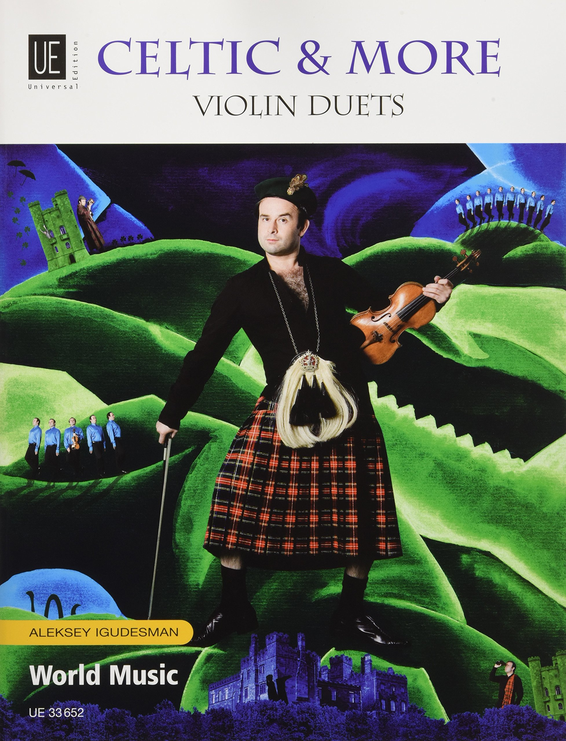 Celtic & More: Violin Duets. für 2 Violinen. Spielpartitur.