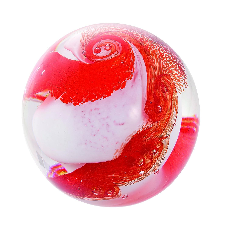 Caithness Glass Cascade – Rot B06XC4VPSZ | Vogue