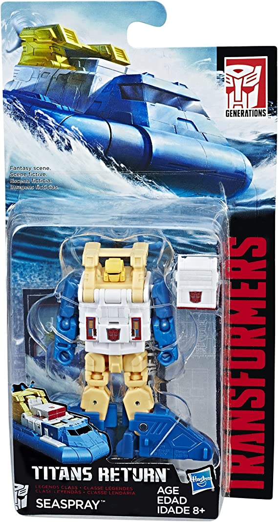 Transformers Power of the Primes Legends Cosmos and Seaspray NEW