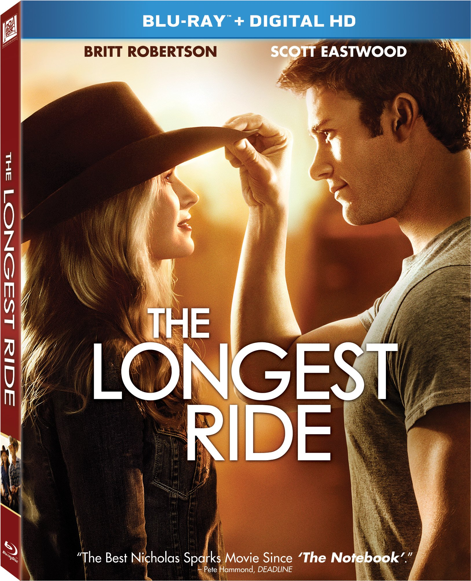 Blu-ray : The Longest Ride (Dubbed, , Widescreen, Digital Theater System, Dolby)