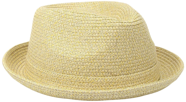 Country Gentleman Men's Joey Snap Brim Braided Fedora Hat CG011