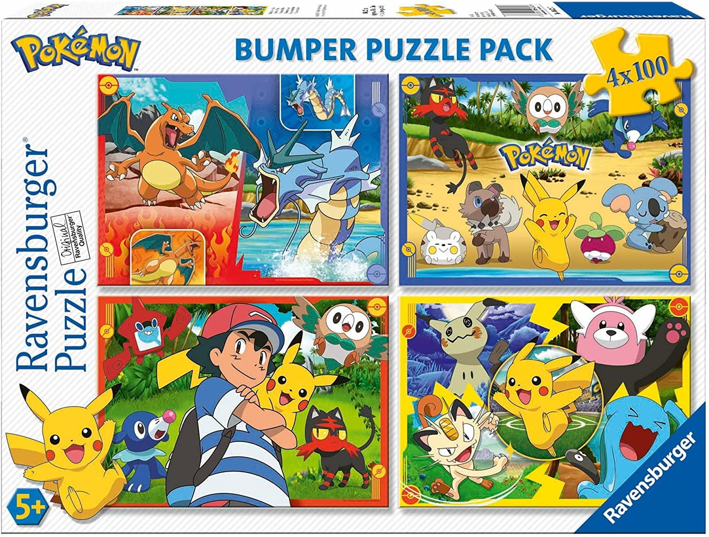 Quattro Puzzle dei Pokemon