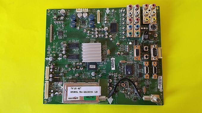 TV LG 42lcd7d _ UB placa base (eax35607003 (0): Amazon.es: Electrónica