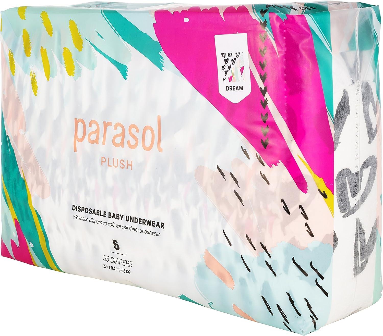 Dream Collection Size 5 35 Count Parasol Plush Baby Diaper