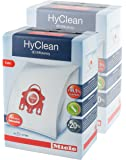 2 X Miele FJM HyClean 3D Efficiency Dustbags for Compact, S700, S4000 and S6000 Series