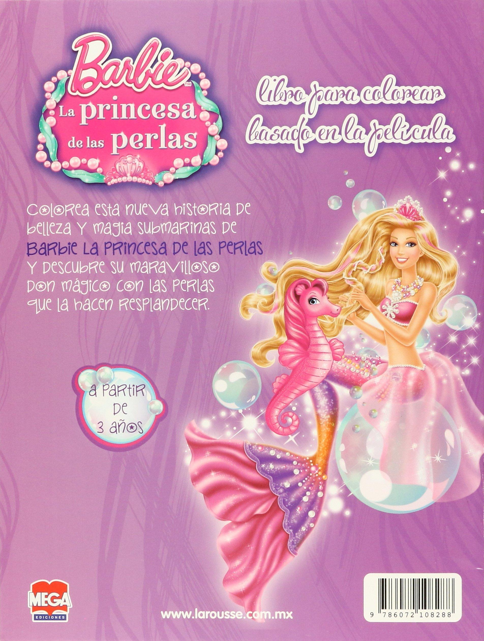 Vistoso Barbie La Perla Princesa Para Colorear Cresta - Ideas Para ...