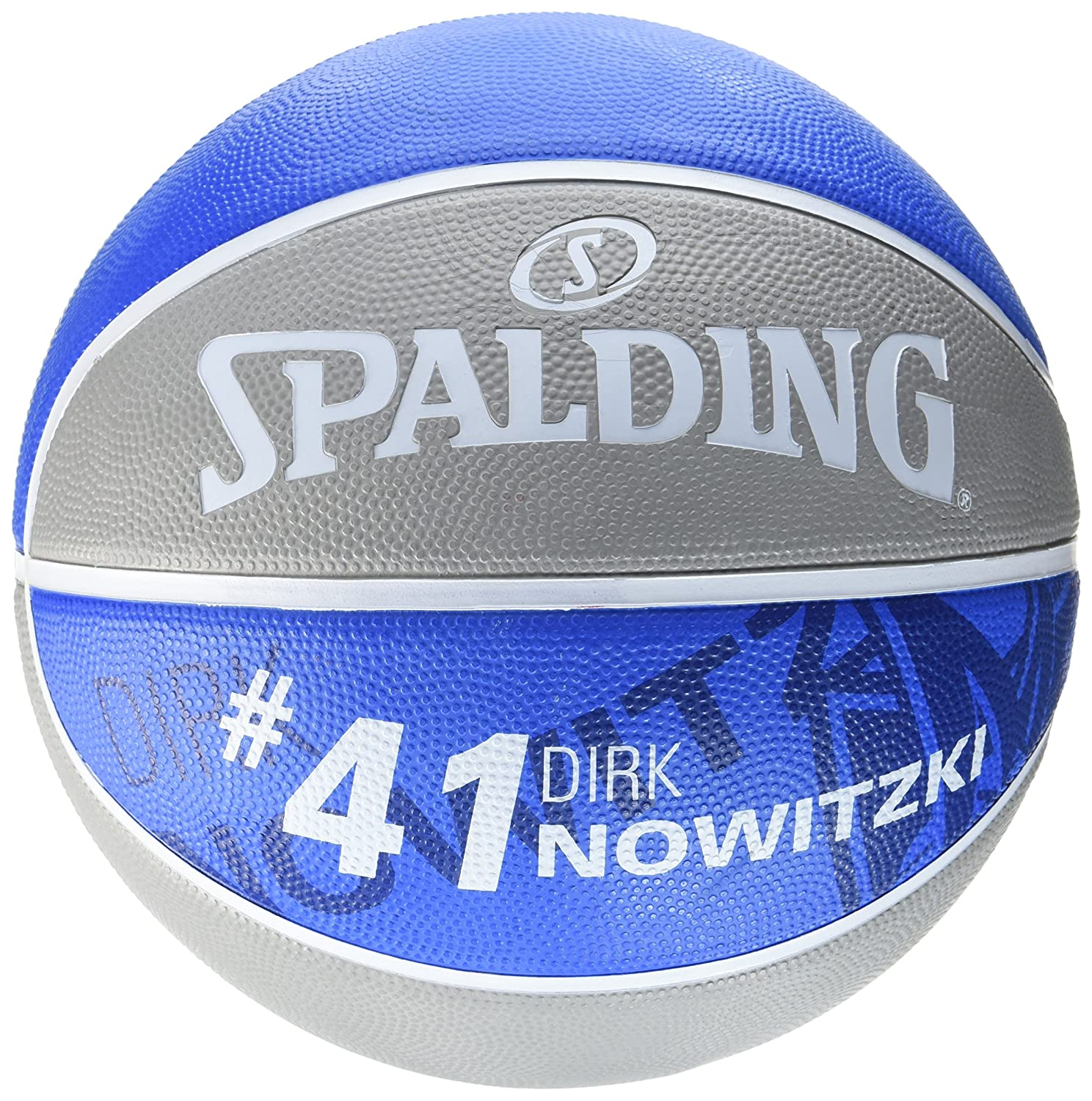 Spalding NBA PLAYER DIRK NOWITZKI SZ.7 fire rot
