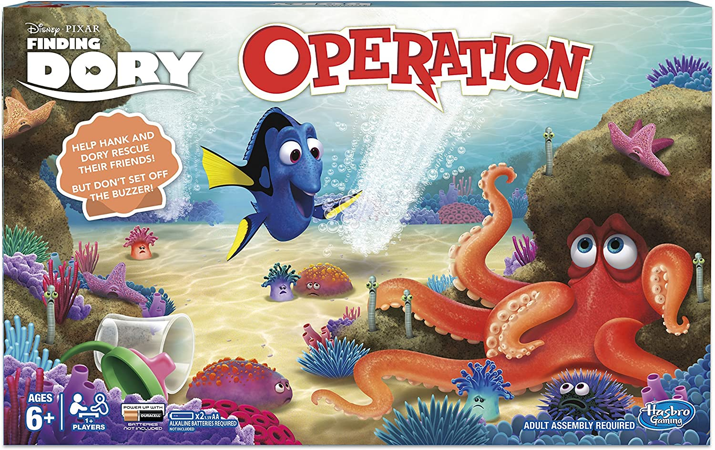 Disney/Pixar Buscando a Dory Operación Juego: Amazon.es: Juguetes ...
