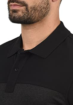 BLEND Lauran - Camisa Polo para Hombre, tamaño:S, Color:Black ...