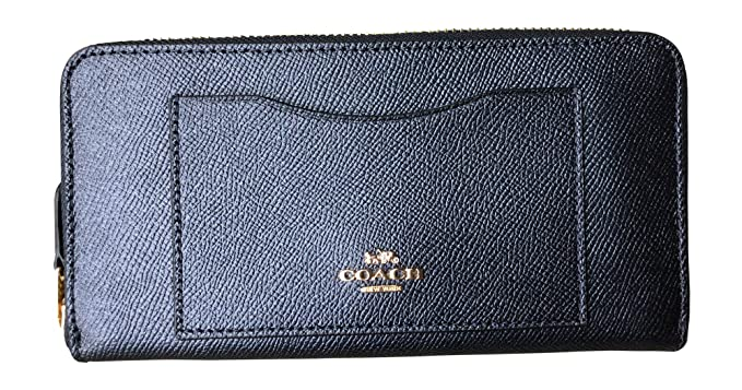 Image Unavailable. Image not available for. Colour  Coach Crossgrain  Leather Accordion Zip Wallet ... 959406b2545f5