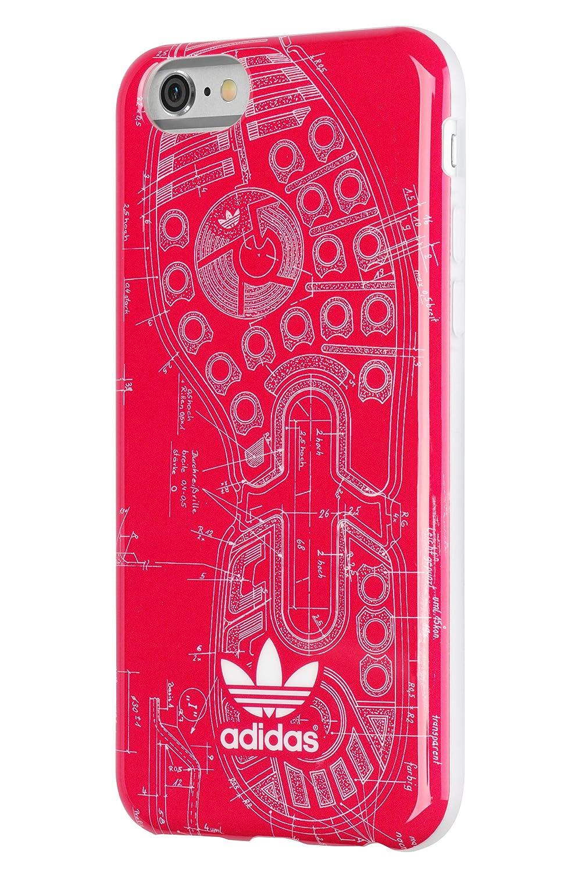 adidas Basics Vivid Berry Suela Carcasa para iPhone 6 ...
