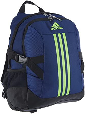 127ccd2acc adidas Backpack Power II M Children s Rucksack blue Night Blue  F13 black ray Green