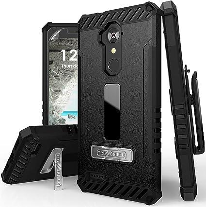 Amazon.com: Tri-Shield - Funda rígida para ZTE MAX XL, Blade ...
