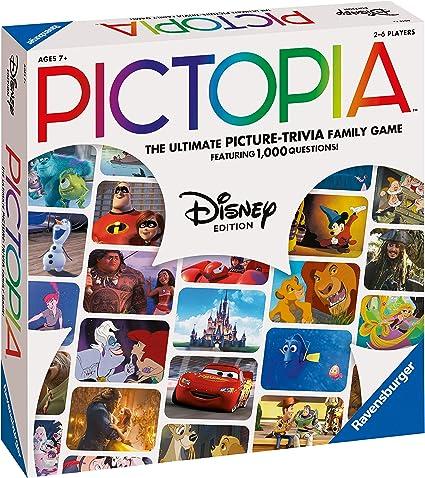 Ravensburger 26292 Pictopia-The Picture Trivia Juego para niños y Adultos a Partir de 7 años Cualquier Fan de Disney: Amazon.es: Juguetes y juegos