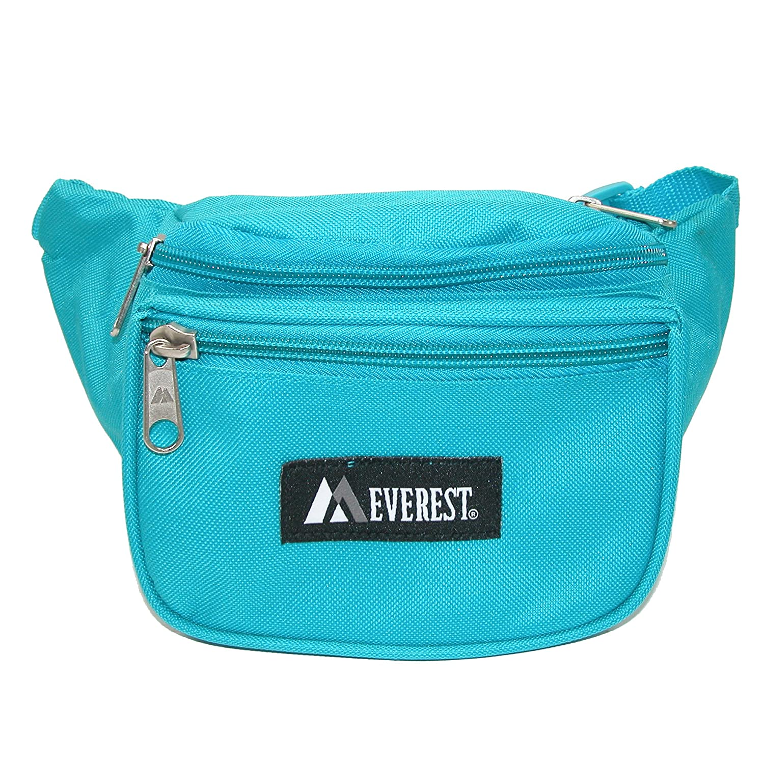Everest Fabric Small Waist Pack Black with Pink Pack of 3