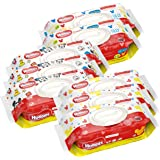 HUGGIES Simply Clean Baby Wipes, Unscented, Soft Pack ,72 Count (Pack of 8) (Packaging May Vary)