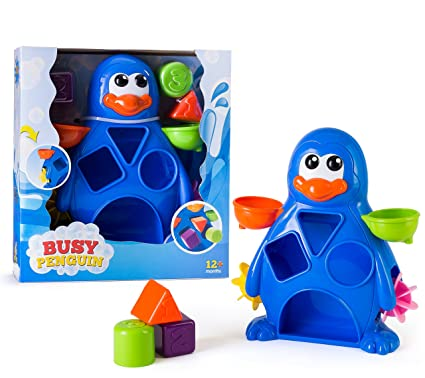 Wind Up Swimming Penguin Bath Toy New To Suit The PeopleS Convenience Bathing Accessories Bathing & Grooming