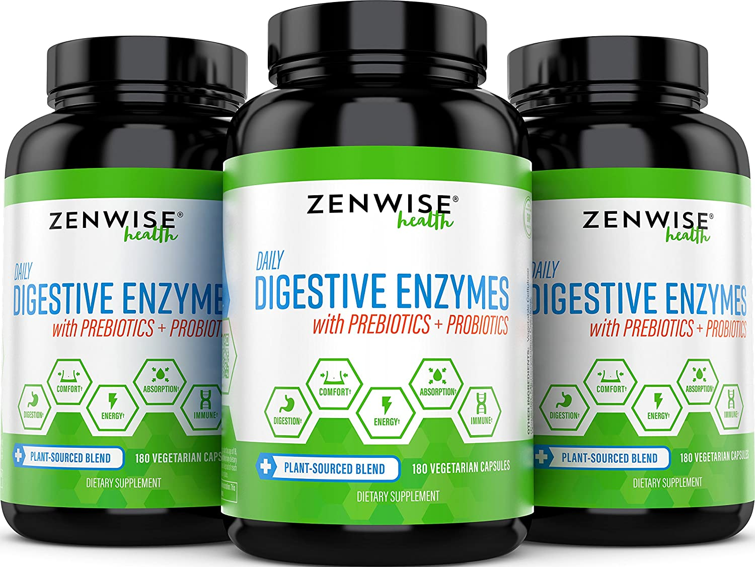 Digestive Enzymes with Prebiotics and Probiotics - All ...
