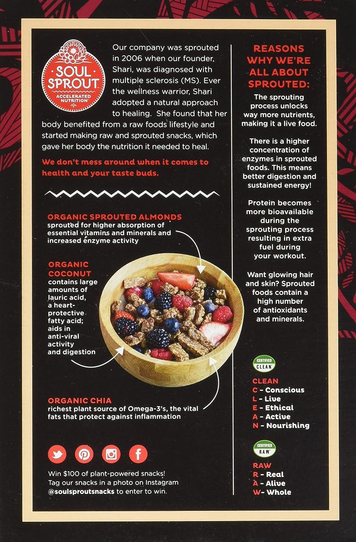 Cereal brotado de grano libre de cereales Soul Sprout, de ...