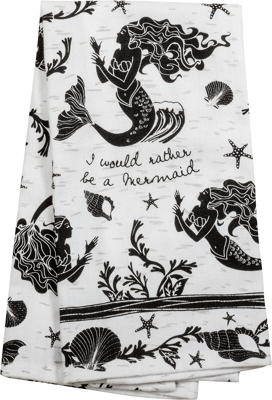 Karma Gifts Boho Black and White Tea Towels, 18