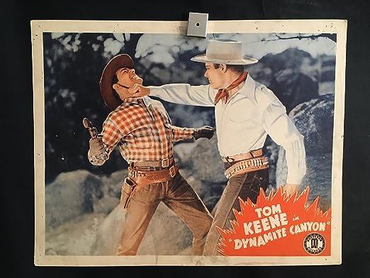 Dynamite Canyon 1941 Original Vintage Lobby Card Movie