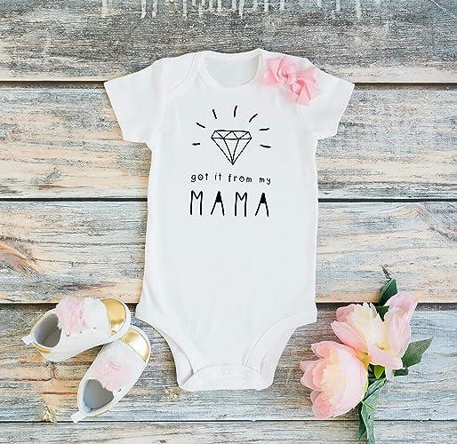 d28590bc5e649 Baby Girl Onesie, Girl Infant Cute Bodysuit, Funny Baby Girl Onesie  Sayings, Cute Baby girl Bodysuits With funny Quotes, Modern Baby Girl  Bodysuits Long ...