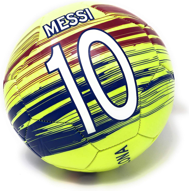 Balón de fútbol del FC Barcelona tamaño 5 Messi con Licencia ...