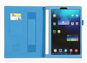 ISIN Funda para Tablet Serie Funda de Premium PU con Stand ...