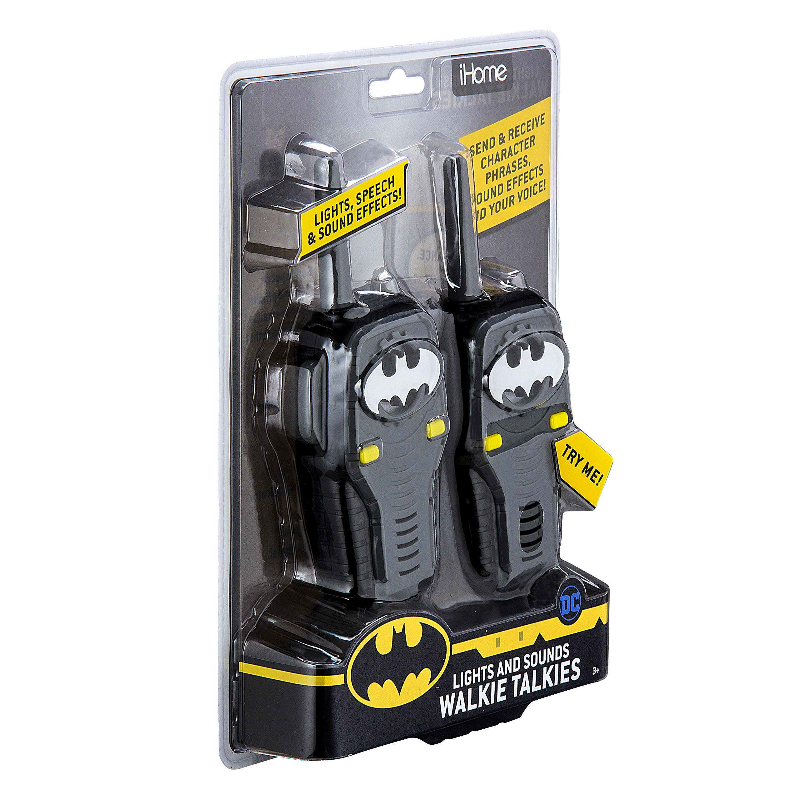 Batman FRS Walkie Talkies for Kids with Lights and Sounds Kid Friendly Easy to Use by eKids (Image #7)