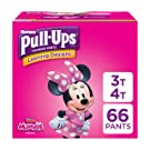 Pull-Ups Learning Designs for Girls Potty Training Pants, 3T-4T (32-40 lbs.), 66 Ct. (Packaging May Vary)