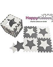 Esterilla de juego de puzle Happykiddoos Esterilla de juego de espuma para niños. Cada esterilla tiene un tamaño de 30x 30cm y es de 1cm de grosor