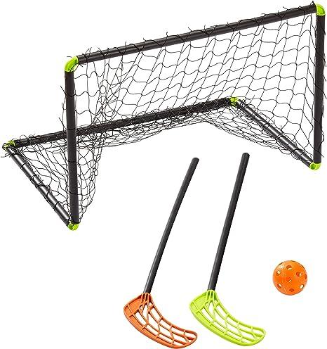 Stiga Player 79-1100-60 - Kit de Floorball, Color Negro: Amazon.es ...