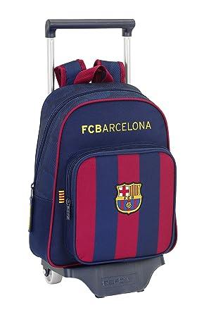 F.C. Barcelona - Mochila infantil carro, 28 x 34 cm (Safta 611525020): Amazon.es: Equipaje