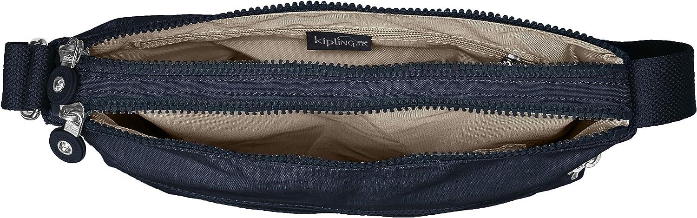 Kipling ALVAR K13335,Borsa a tracolla donna, 33 x 26 x 4 cm (L x A x P) True Blue T