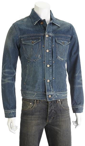 Giacca jeans uomo usato