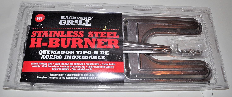 Stainless Steel H-Burner