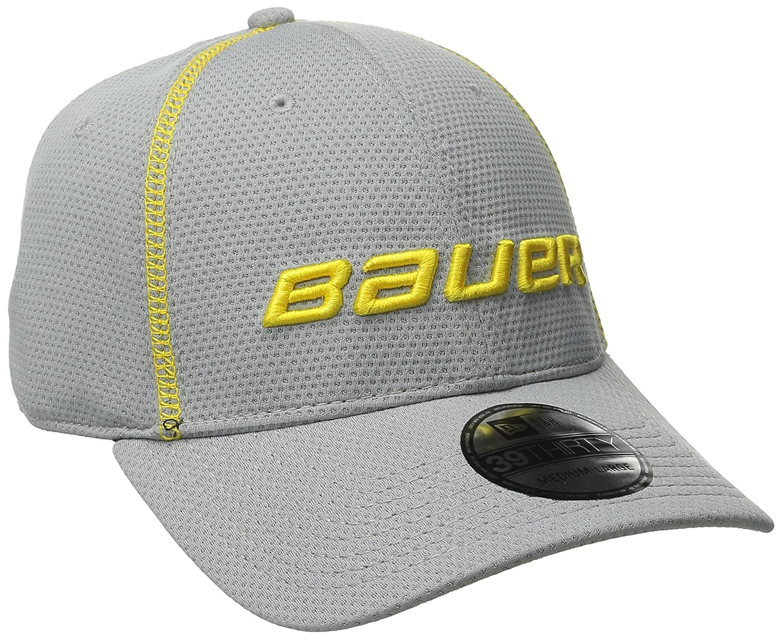 faf5f33cbf2 Amazon.com  Bauer Men s New Era 39Thirty Training Cap  Sports   Outdoors